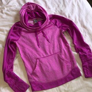 Champion duo dry magenta hoodie sweatshirt M